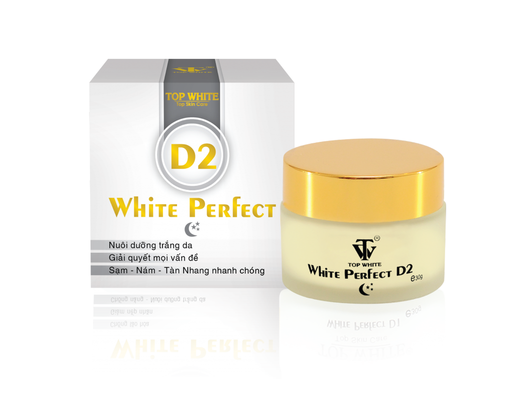 White Perfect D2 : Recondition cream, restore the skin at night