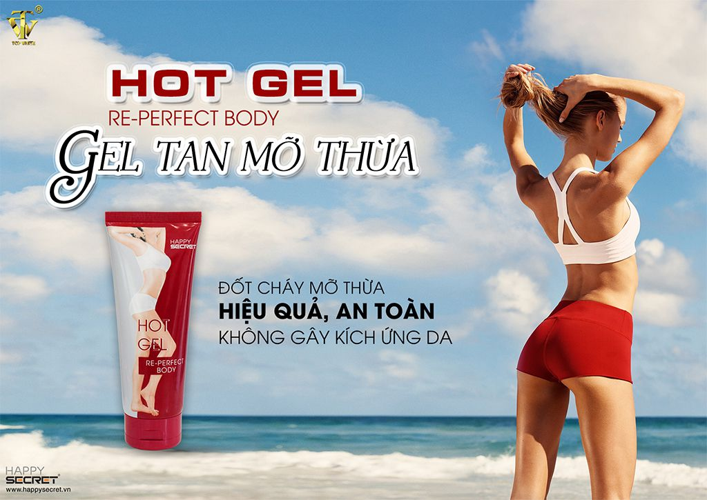 top white hot gel