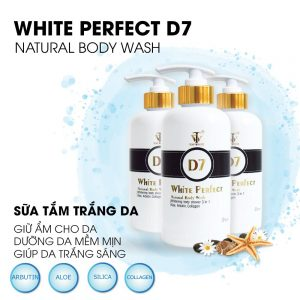 top white natural body wash